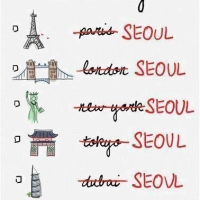 Seoul in 3 days!!! The 10 spots on my bucket lists