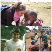 """""""What makes my heart sing? Knowing my children have grown up to care about people all over the world. From building houses to working in soup kitchens, from public education to public health, my kids are making a difference in the world, and nothing makes me happier than that!"""" Lexklein"""
