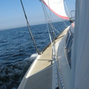 """""""Sailing puts me at ease, warms my heart, brightens up spirits and soul; for me, there is nothing where I feel more comfortable and being me."""" Hubert"""