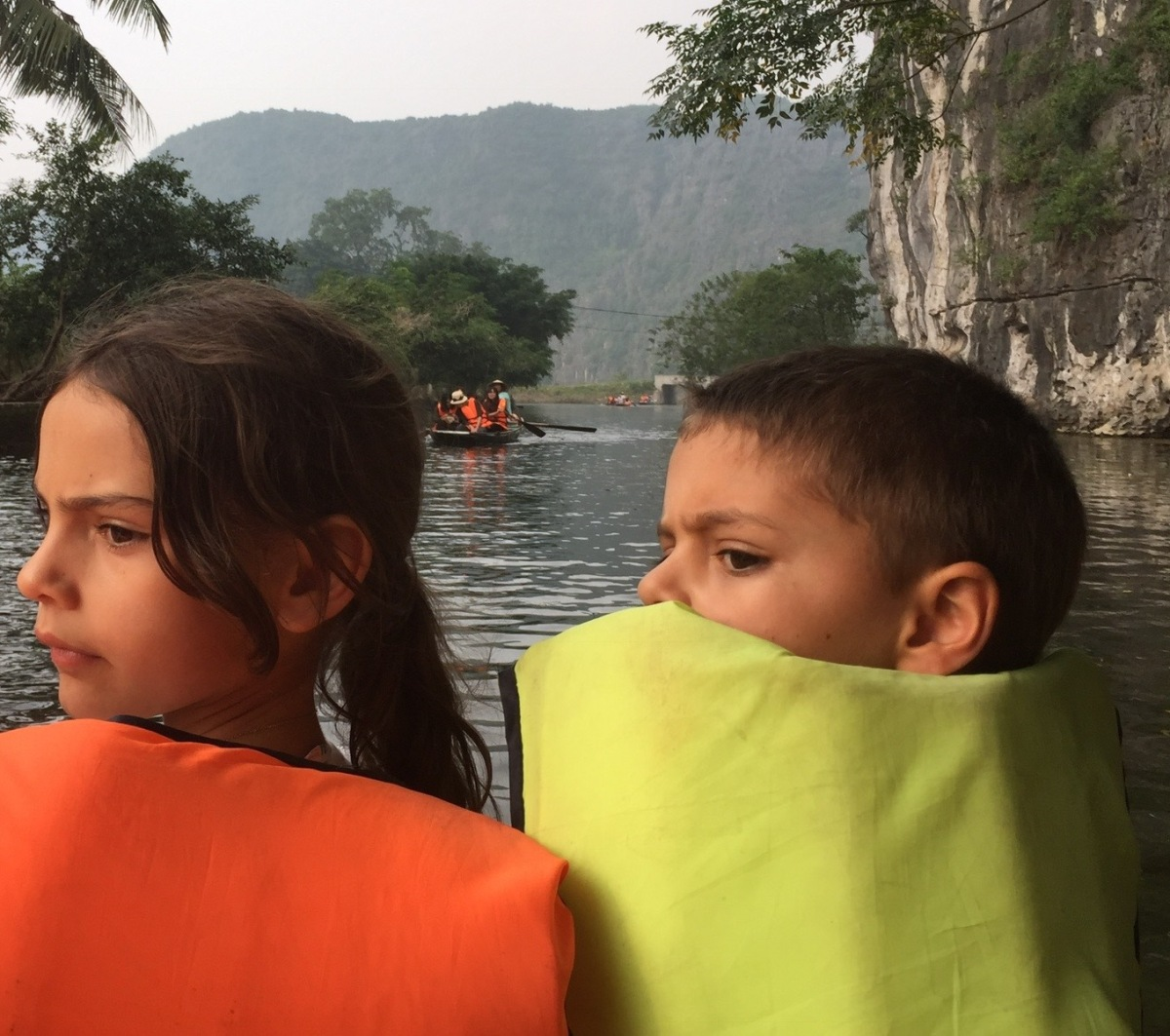 Family haven: escaping Hanoi pollution in Ninh Binh