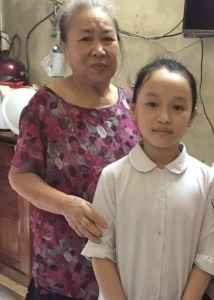 Linh and her grand mother